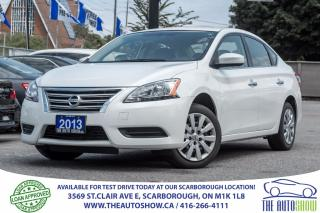Used 2013 Nissan Sentra One Owner BLUETOOTH Like NEW! for sale in Caledon, ON