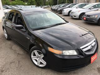 Used 2005 Acura TL W/NAVIGATION PKG/AUTO/ALLOYS/SUNROOF/LIKE NEW for sale in Pickering, ON