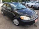 Used 2004 Toyota Corolla CE/AUTO/4-CYLINDER/DRIVES LIKE NEW for sale in Pickering, ON