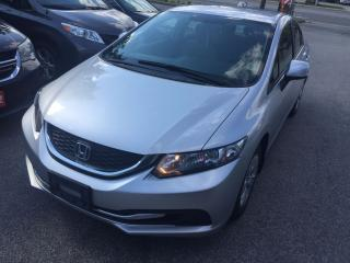 Used 2013 Honda Civic LX for sale in Scarborough, ON