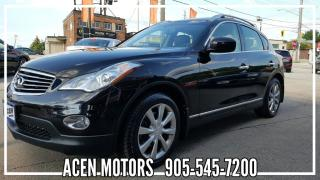 Used 2012 Infiniti EX35 AWD- LEATHER- BACK UP CAMERA for sale in Hamilton, ON