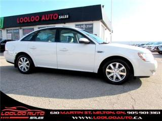 Used 2009 Ford Taurus SEL 3.5L Certified 2 YR Warranty for sale in Milton, ON
