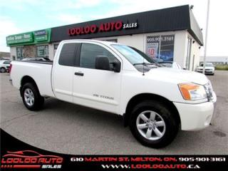 Used 2012 Nissan Titan SV V-8 4x4 King Cab Bluetooth Certified 2YR Warr for sale in Milton, ON