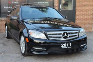 Used 2011 Mercedes-Benz C-Class C250 4MATIC *LOADED, CERTIFIED, WARRANTY* for sale in Scarborough, ON