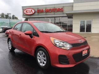 Used 2016 Kia Rio LX+ A/C BLUETOOTH CRUISE for sale in Woodstock, ON