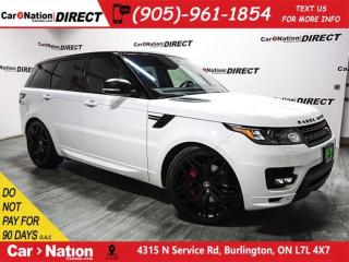 Used 2016 Land Rover Range Rover Sport V8 Supercharged Autobiography| OPEN SUNDAYS| for sale in Burlington, ON
