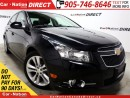 Used 2013 Chevrolet Cruze LT/RS Turbo| LEATHER| SUNROOF| BACK UP CAMERA| for sale in Burlington, ON