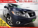 Used 2014 Nissan Pathfinder Platinum| 4X4|DUAL DVD| DUAL SUNROOF| NAVI| for sale in Burlington, ON
