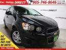 Used 2015 Chevrolet Sonic LT| TOUCH SCREEN| BACK UP CAMERA| for sale in Burlington, ON
