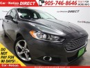 Used 2016 Ford Fusion SE for sale in Burlington, ON