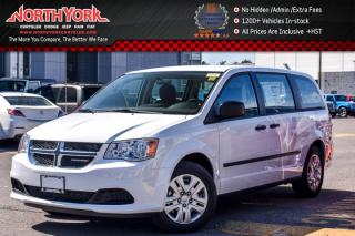 New 2017 Dodge Grand Caravan New Car CVP|7-Seater|AC|Trac.Ctrl|EngineBlockHtr|Trac.Cntrl for sale in Thornhill, ON
