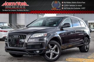Used 2015 Audi Q7 3.0T Vorsprung Edition Quattro|Pano_Sunroof|Heat Seats|BOSE|20