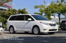 Used 2014 Toyota Sienna XLE Limited AWD, Toyota Certified, balance of factory warranty, DVD entertainment system for sale in Richmond, BC