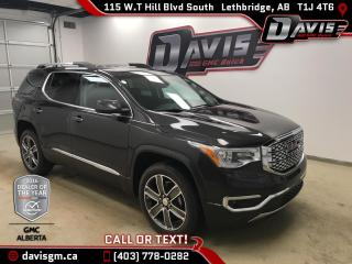 New 2018 GMC Acadia Denali-THE ALL NEW 2018 ACADIA!! for sale in Lethbridge, AB