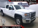 New 2017 GMC Sierra 2500 HD SLE-Heated 40/20/40 Split Bench Seat, Android/Apple Carplay for sale in Lethbridge, AB