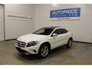 Used 2015 Mercedes-Benz GLA-Class GLA250 4MATIC NAVI PANO-ROOF for sale in Mississauga, ON