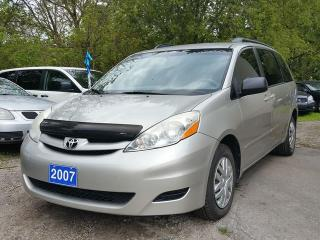 Used 2007 Toyota Sienna certified,8 seater! for sale in Oshawa, ON