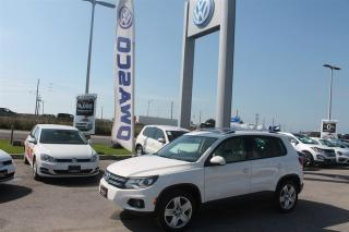 Used 2013 Volkswagen Tiguan 2.0 TSI Comfortline w/ 4MOTION AWD for sale in Whitby, ON