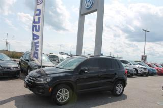Used 2014 Volkswagen Tiguan Trendline *CLEAN CARPROOF* for sale in Whitby, ON
