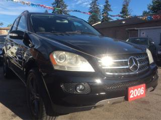 Used 2006 Mercedes-Benz ML500 5.0L for sale in Scarborough, ON