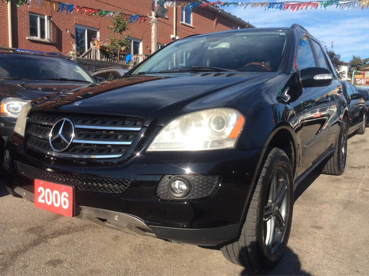 Used 2006 mercedes benz ml500 5 0l 4wd nav bluetooth for Mercedes benz scarborough