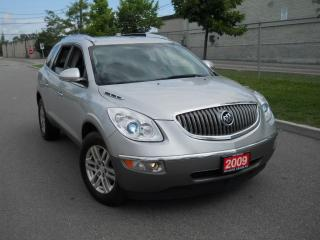 Used 2009 Buick Enclave 2009 Buick Enclave,7 pass,3/Y warranty availab for sale in North York, ON