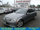 Used 2011 Mercedes-Benz C-Class C300 4MATIC Navigation/Sensors/Leather/Sunroof for sale in Mississauga, ON