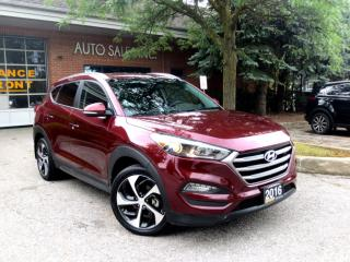 Used 2016 Hyundai Tucson AWD,Limited,ONE OWNER,LOW KM,CERTIFIED for sale in Concord, ON
