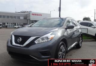 Used 2017 Nissan Murano S |FWD|Not a Rental|Low Ks| for sale in Scarborough, ON