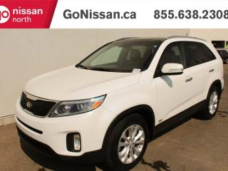 Used 2015 Kia Sorento LEATHER, SUNROOF, HEATED SEATS!! for sale in Edmonton, AB