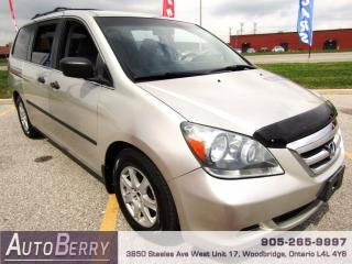 Used 2005 Honda Odyssey LX - 3.5L for sale in Woodbridge, ON