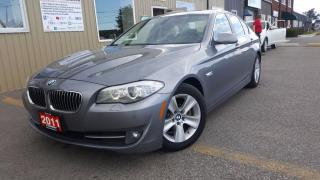 Used 2011 BMW 5 Series 528i-1 OWNER OFF LEASE-LOADED-LEATHER-SUNROOF for sale in Tilbury, ON