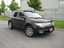 Used 2007 Ford Edge Black on Black Leather, Glassroof, for sale in North York, ON