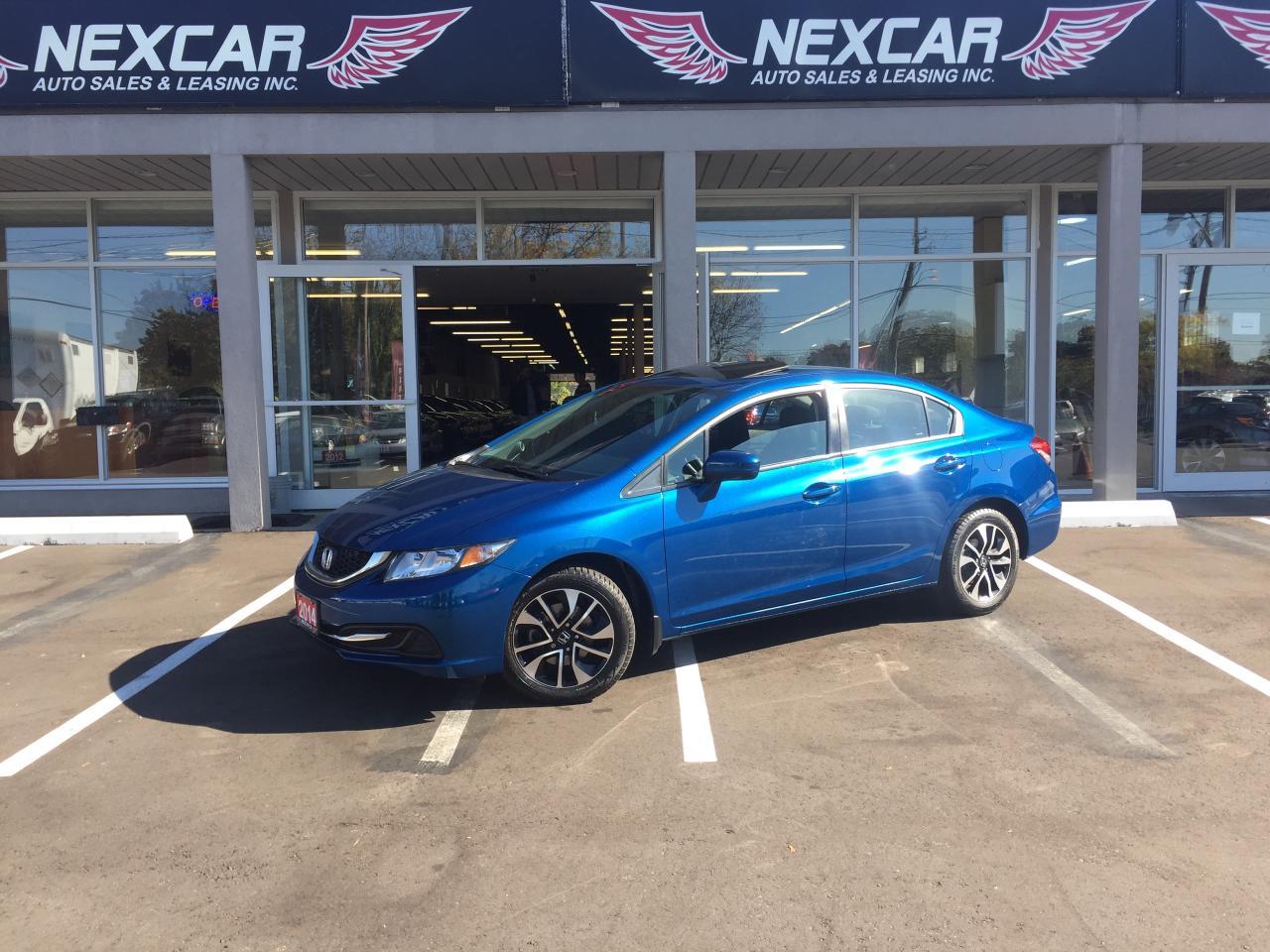 Photo of Blue 2014 Honda Civic