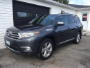 Used 2013 Toyota Highlander for sale in Kingston, ON