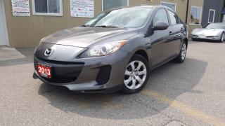 Used 2013 Mazda MAZDA3 GX-LOW KM-1 OWNER OFF LEASE-FACTORY WARRANTY for sale in Tilbury, ON