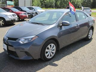 Used 2015 Toyota Corolla LE for sale in Thunder Bay, ON