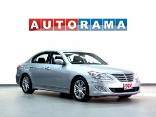 Used 2013 Hyundai Genesis NAVIGATION BACKUP CAM LEATHER SUNROOF for sale in North York, ON