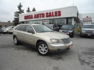 Used 2005 Chrysler Pacifica Touring 6PASSENGER LEATHER PW PL NEW BRAKES SAFETY for sale in Oakville, ON