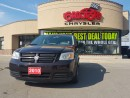 Used 2010 Dodge Grand Caravan SE STOW AND GO 3 ZONE TEMP ALLOY 6 PWR WINDOWS for sale in Scarborough, ON