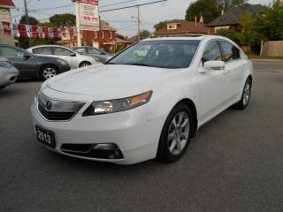 Used 2013 Acura TL NAVIGATION w/TECH PACKAGE for sale in Guelph, ON