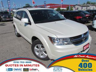 Used 2014 Dodge Journey SE+ | 7 PASS | SAT RADIO | BLUETOOTH for sale in London, ON