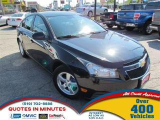 Used 2012 Chevrolet Cruze LT | TURBO | BLUETOOTH | SAT RADIO for sale in London, ON