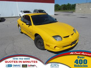 Used 2002 Pontiac Sunfire SL | FRESH TRADE | AS-IS SPECIAL for sale in London, ON
