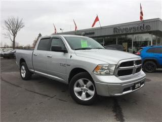 Used 2016 Dodge Ram 1500 SLT for sale in Cornwall, ON