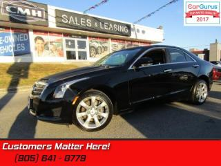 Used 2014 Cadillac ATS 2.0 Turbo Luxury  AWD, NAV, CUE, ROOF, CAMERA for sale in St Catharines, ON