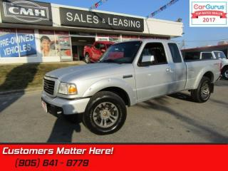 Used 2008 Ford Ranger Sport  V6, 4X4, EXT, CAMERA, PDL, KEYLESS, CRUISE for sale in St Catharines, ON