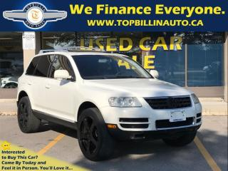 Used 2004 Volkswagen Touareg V8 Fully Loaded for sale in Concord, ON