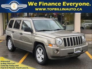 Used 2008 Jeep Patriot Sport/North 4X4, 2 Years Warraty for sale in Concord, ON