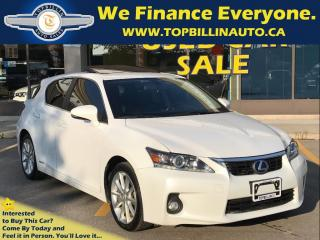 Used 2011 Lexus CT 200h SUNROOF, LEATHER, 148K kms for sale in Concord, ON
